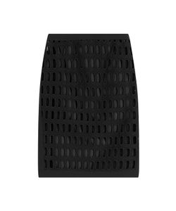 Moschino | Cotton Pencil Skirt With Cut-Out Detail Gr. It 42