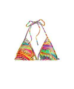Luli Fama | Dreamin Printed Triangle Bikini Top Gr. S