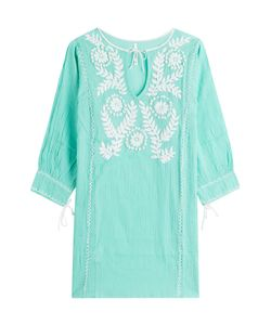 Florabella | Embroidered Cotton Tunic Gr. M