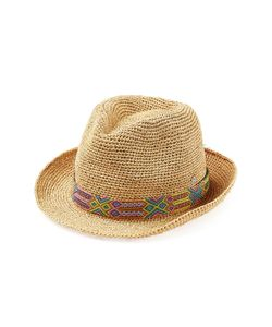 Florabella | Raffia Hat With Bead Embellishment Gr. One
