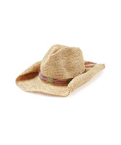 Florabella | Raffia Hat With Woven Band Gr. One