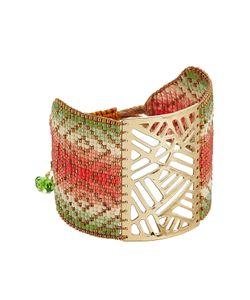 Mishky | Bead Embellished Cuff Bracelet Gr. One