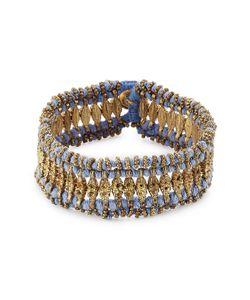 Blue Hippy | Embellished Fabric Bracelet Gr. One