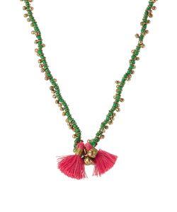 Blue Hippy | Embellished Necklace With Tassel Gr. One