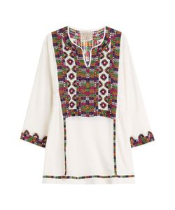 Blue Hippy | Embroidered Cotton Tunic Gr. One
