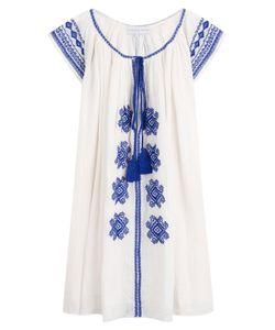 Christophe Sauvat | Bolshoi Embroidered Cotton Tunic Dress Gr. One