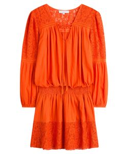 Christophe Sauvat | Cotton Dress With Lace Gr. Xl