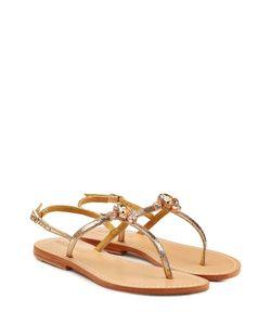 Mystique | Embellished Leather Sandals Gr. Fr 40