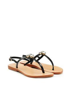 Mystique | Embellished Patent Leather Sandals Gr. Fr 39