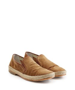 N.D.C. | Suede Loafers With Straw Midsole Gr. Eu 42