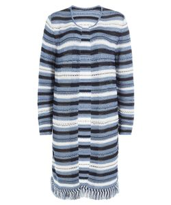 Lucien Pellat-Finet | Striped Knit Cardigan Gr. M