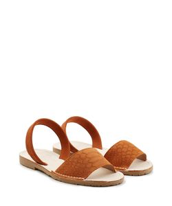DEL RIO LONDON | Embossed Suede Sandals Gr. It 41