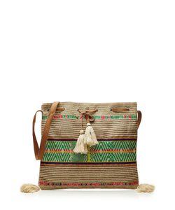 Star Mela | Billy Woven Cotton Shoulder Bag Gr. One