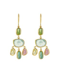 PIPPA SMALL | 18kt Earrings With Tourmaline Gr. One