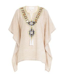Gooshwa | Embellished Cotton Caftan Gr. Xl