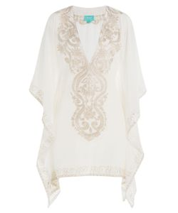Taj | Embroidered Silk Tunic Gr. M