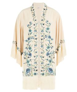 TALITHA | Embroidered Silk Jacket Gr. S