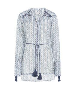 TALITHA | Printed Cotton-Silk Tunic Gr. S