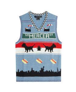 Marc Jacobs   Printed Wool Vest Gr. L