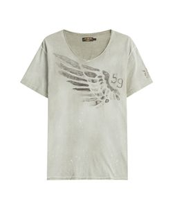Rude Riders | Wing Cotton T-Shirt Gr. L
