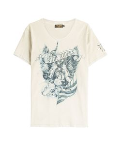 Rude Riders | American Eagle Printed Cotton T-Shirt Gr. Xxl
