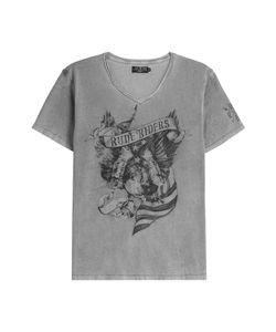 Rude Riders | American Eagle Cotton T-Shirt Gr. L
