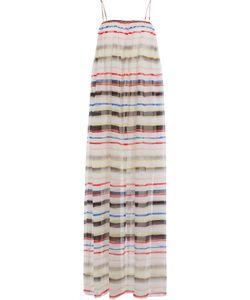 MARYSIA | Cotton Maxi Dress With Silk Gr. M