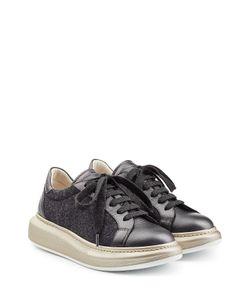 Brunello Cucinelli | Platform Leather Sneakers Gr. It 38.5