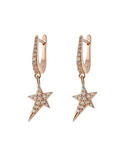 Diane Kordas | 18kt Earrings With Diamonds Gr. One