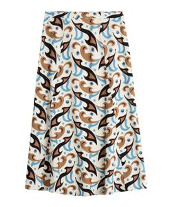 Etro | Printed Wool Skirt Gr. It 42