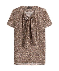 Etro | Printed Silk Top With Tie Gr. It 38