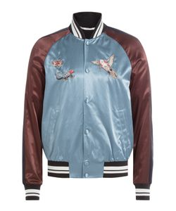Valentino | Satin Bomber Jacket With Embroidery Gr. Eu 50