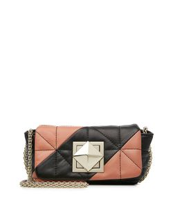 Sonia Rykiel | Quilted Leather Shoulder Bag Gr. One