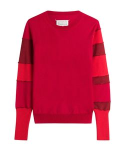 Maison Margiela | Wool Sweatshirt With Cotton Gr. S