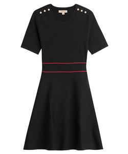 Burberry London | Cotton Dress With Embossed Buttons Gr. S