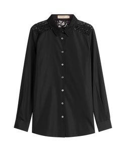 Burberry London | Cotton Shirt With Lace Back Gr. Uk 6