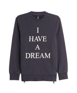 Neil Barrett   Printed Cotton Sweatshirt Gr. Xl