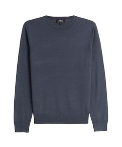 A.P.C. | Merino Wool Pullover With Silk Gr. M