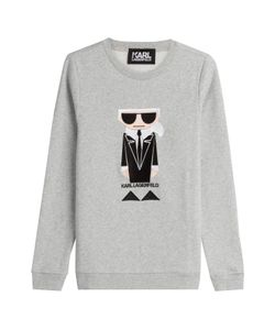 Karl Lagerfeld | Kocktail Karl Cotton Sweatshirt Gr. S