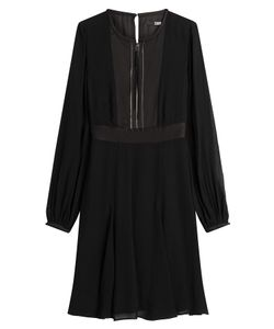 Karl Lagerfeld | Chiffon Dress With Zipped Front Gr. It 40