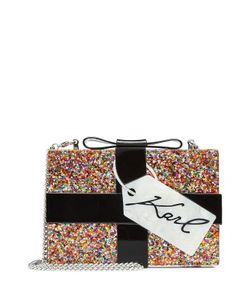 Karl Lagerfeld | Glitter Box Clutch Gr. One