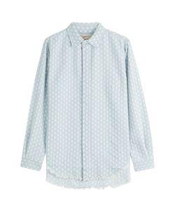 Current/Elliott   Distressed Denim Shirt Gr. 1