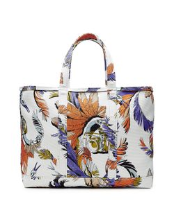 Emilio Pucci | Printed Cotton Tote Gr. One