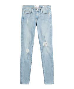 Frame Denim | Le Skinny De Jeanne Distressed Jeans Gr. 27