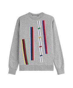 Etre Cecile | Cotton Sweatshirt With Textured Applique Gr. L