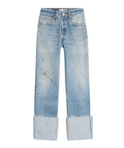 Re/Done | Distressed Cropped Jeans Gr. 29