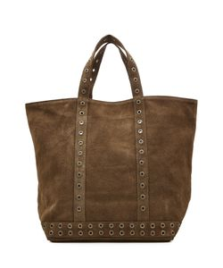 Vanessa Bruno | Suede Tote With Eyelet Trim Gr. One