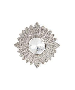 Kenneth Jay Lane | Crystal Embellished Brooch Gr. One