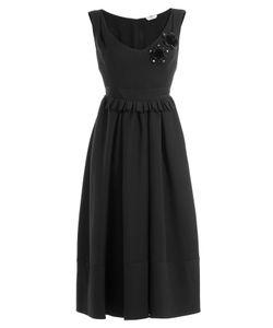 Fendi | Embellished Wool-Silk Cocktail Dress Gr. It 38