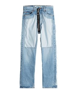 Off White | Distressed High-Waist Jeans With Zipper Gr. 25